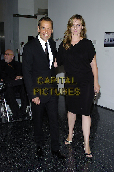 """JEFF KOONS & JUSTINE KOONS.The 39th annual """"The Party in the Garden"""" at the Museum of Modern Art, New York City, New York, USA..May 15th, 2007.full length black suit dress.CAP/ADM/BL.©Bill Lyons/AdMedia/Capital Pictures *** Local Caption ***"""