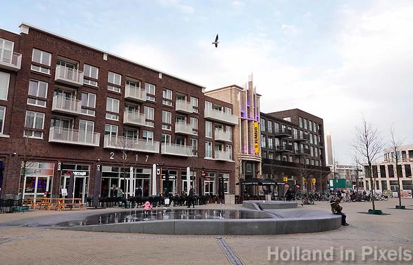 Nederland Utrecht - november 2018.   Stadshart Leidsche Rijn Centrum. Het Brusselplein.  Foto Berlinda van Dam / Hollandse Hoogte