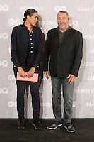 MADRID, SPAIN-NOVEMBER 3: Philippe Starck and Jasmine Abdellatif Starck  attends  the GQ awards 2016 at the Palace Hotel in Madrid, Spain. November 3, 2016. Credit: Jimmy Olsen/Media Punch ***NO SPAIN***