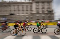 Wian Sullwald of South Africa during the 2017 Madrid ITU Triathlon World Cup in Madrid, May 28, 2017. Spain.. (ALTERPHOTOS/Rodrigo Jimenez) /NortePhoto.com