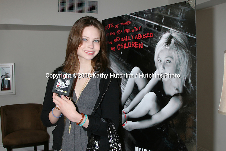 Daveigh Chase.GBK Productions Oscar Gifting Suite.Boulevard3.Los Angeles, CA.February 23, 2008.©2008 Kathy Hutchins / Hutchins Photo....