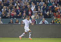 Carson, Ca-January 22, 2010: Juan Agudelo of the USA men's national team during a 1-1 tie with Chile at the Home Depot Center in Carson, California.