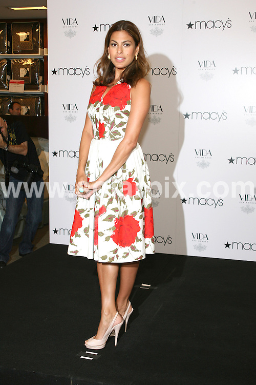 "**ALL ROUND PICTURES FROM SOLARPIX.COM**.**SYNDICATION RIGHTS FOR UK, AUSTRALIA, DENMARK, PORTUGAL, S. AFRICA, SPAIN & DUBAI (U.A.E) ONLY**.Hollywood latino actress Eva Mendes  Her New Home Collection ""Vida by Eva Mendes"" at Macy's department store in New York City, NY, USA ...This pic:Eva Mendes..JOB REF: 9604     PHZ/Gaboury    DATE: 26.07.09.**MUST CREDIT SOLARPIX.COM OR DOUBLE FEE WILL BE CHARGED**.**ONLINE USAGE FEE GBP 50.00 PER PICTURE - NOTIFICATION OF USAGE TO PHOTO @ SOLARPIX.COM**.**CALL SOLARPIX : +34 952 811 768 or LOW RATE FROM UK 0844 617 7637**"
