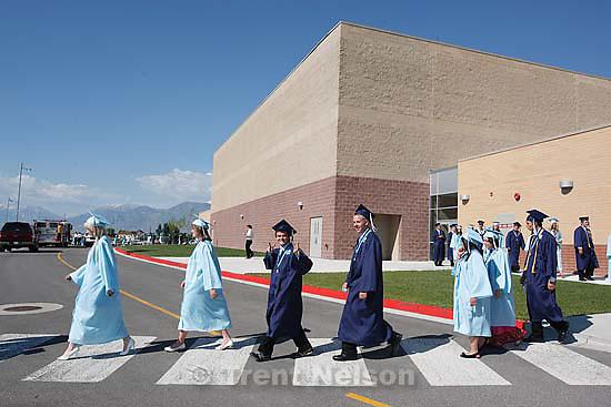Salem - Salem High School's first ever graduation ceremony, Wednesday May 27, 2009