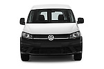 Car photography straight front view of a 2016 Volkswagen Caddy Maxi Van - 5 Door Car Van Front View