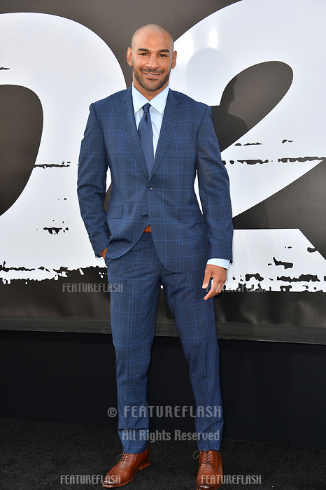 Jay Hieron at the premiere for &quot;The Equalizer 2&quot; at the TCL Chinese Theatre, Los Angeles, USA 17 July 2018<br /> Picture: Paul Smith/Featureflash/SilverHub 0208 004 5359 sales@silverhubmedia.com
