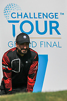 Francesco Laporta (ITA) on the 7th tee during Round 1 of the Challenge Tour Grand Final 2019 at Club de Golf Alcanada, Port d'Alcúdia, Mallorca, Spain on Thursday 7th November 2019.<br /> Picture:  Thos Caffrey / Golffile<br /> <br /> All photo usage must carry mandatory copyright credit (© Golffile | Thos Caffrey)