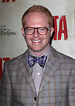 Jesse Tyler Ferguson.attending the Broadway Opening Night Performance of 'EVITA' at the Marquis Theatre in New York City on 4/5/2012 © Walter McBride / WM Photography