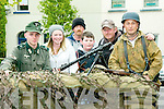 Listowel Military Weekend: Taking part & enjoying the military activities in Listowel on Sunday last were Cormac Heffernan, Katie Ahern Lynch, Tom Lynch, Richard Ahern Lynch, Pat Lynch all from Listowel & Tom Stack from Ballylongford.