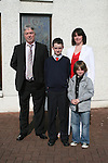 Daragh Haigh with Linda and Pat Gallagher and Sean Haigh at the Donacarney NS Confirmation in The Star of the Sea Church...Photo NEWSFILE/Jenny Matthews.(Photo credit should read Jenny Matthews/NEWSFILE)....This Picture has been sent you under the condtions enclosed by:.Newsfile Ltd..The Studio,.Millmount Abbey,.Drogheda,.Co Meath..Ireland..Tel: +353(0)41-9871240.Fax: +353(0)41-9871260.GSM: +353(0)86-2500958.email: pictures@newsfile.ie.www.newsfile.ie.FTP: 193.120.102.198.