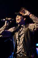 Adam Lambert performs at the Texas Tango in Dallas on October 29, 2012.