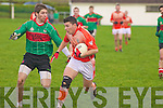 Tom McGoulderick(Brosna) and Brendan Browne(Beal)