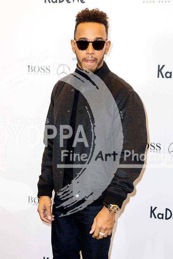 Lewis Hamilton beim KaDeWe X Hugo Boss Photocall im Kaufhaus des Westens. Berlin, 12.10.2017