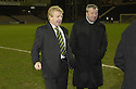 30/01/2008    Copyright Pic: James Stewart.File Name : sct_05_motherwell_v_celtic.CELTIC MANAGER GORDON STRACHAN ON THE PITCH AFTER THE GAME AGAINST MOTHERWELL WAS CALLED OFF JUST 45 MINS BEFORE KICK OFF.James Stewart Photo Agency 19 Carronlea Drive, Falkirk. FK2 8DN      Vat Reg No. 607 6932 25.Studio      : +44 (0)1324 611191 .Mobile      : +44 (0)7721 416997.E-mail  :  jim@jspa.co.uk.If you require further information then contact Jim Stewart on any of the numbers above.........
