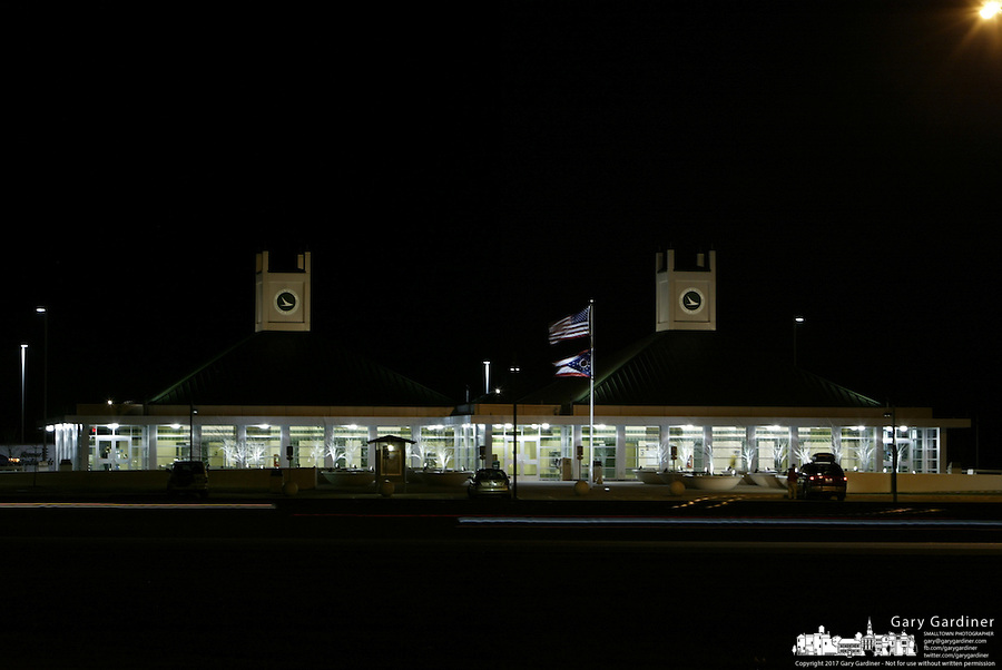 The new ODOT rest area on Interstate 70 Saturday, Dec. 23, 2006, in Buckeye Lake, Ohio.