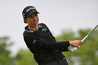Carlota Ciganda (ESP) watches her tee shot on 3 during the round 1 of the KPMG Women's PGA Championship, Hazeltine National, Chaska, Minnesota, USA. 6/20/2019.<br /> Picture: Golffile | Ken Murray<br /> <br /> <br /> All photo usage must carry mandatory copyright credit (© Golffile | Ken Murray)