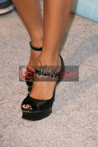 Vida Guerra's shoes <br /> at Spike TV's 2008 'Video Game Awards'. Sony Pictures Studios, Culver City, CA. 12-14-08<br /> Dave Edwards/DailyCeleb.com 818-249-4998
