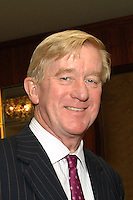 William Weld, former Massachusetts Governor, Libertarian Party Vice Presidential nominee 2016