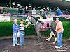 Extreme Alex winning at Delaware Park on 6/27/15