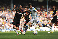Blackburn Rovers' Ben Brereton under pressure from Bolton Wanderers' Marc Wilson<br /> <br /> Photographer Kevin Barnes/CameraSport<br /> <br /> The EFL Sky Bet Championship - Blackburn Rovers v Bolton Wanderers - Monday 22nd April 2019 - Ewood Park - Blackburn<br /> <br /> World Copyright © 2019 CameraSport. All rights reserved. 43 Linden Ave. Countesthorpe. Leicester. England. LE8 5PG - Tel: +44 (0) 116 277 4147 - admin@camerasport.com - www.camerasport.com