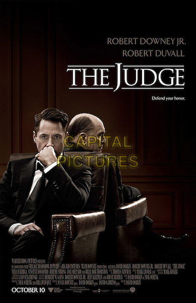 POSTER ART<br /> in The Judge (2014) <br /> *Filmstill - Editorial Use Only*<br /> CAP/NFS<br /> Image supplied by Capital Pictures