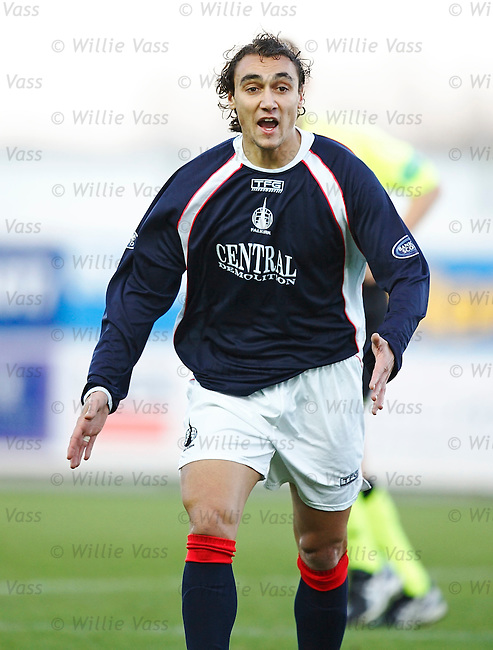 Vitor Lima, Falkirk.stock season 2005-2006.pic willie vass