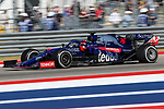Scuderia Toro Rosso Honda driver Daniil Kvyat (26) of Russia in action during the Formula 1 Emirates United States Grand Prix race held at the Circuit of the Americas racetrack in Austin,Texas.