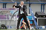 Olympique Lyonnais' coach Gerard Precheur during UEFA Women's Champions League 2015/2016 Final match.May 26,2016. (ALTERPHOTOS/Acero)