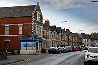 Pen-y-Wain Road in Cardiff, Wales, UK. Thursday 17 October 2019