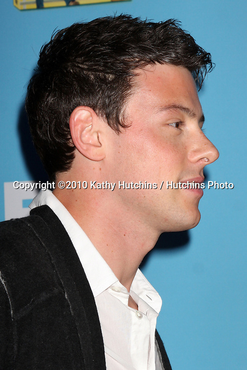 LOS ANGELES - SEP 7:  Cory Monteith arrives at the GLEE Premiere Screening & Party - Season 2 at Paramount Studios  on September 7, 2010 in Los Angeles, CA