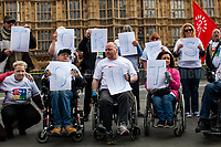 "02.05.2017 - ""Who 2 Vote 4?"" - Disabled People Against Cuts Demo"