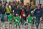 LOCAL: Local kids marching in the St Patricks Day Parade in Milltown on Saturday..