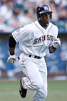 July 15, 2009: Colorado Springs Sky Sox's Eric Young, Jr. during the 2009 Triple-A All-Star Game at PGE Park in Portland, Oregon.