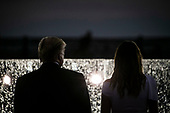 "U.S. President Donald Trump and first lady Melania Trump participate during the Fourth of July Celebration 'Salute to America' event in Washington, D.C., U.S., on Thursday, July 4, 2019. The White House said Trump's message won't be political -- Trump is calling the speech a ""Salute to America"" -- but it comes as the 2020 campaign is heating up. <br /> Credit: Al Drago / Pool via CNP"
