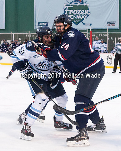 Blaine Byron (Maine - 89), Benjamin Freeman (UConn - 24) - The University of Maine Black Bears defeated the University of Connecticut Huskies 4-0 at Fenway Park on Saturday, January 14, 2017, in Boston, Massachusetts.