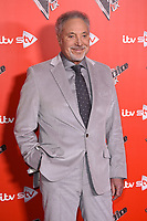 Sir Tom Jones<br /> at the photocall for The Voice UK 2018 launch at Ham Yard Hotel, London<br /> <br /> <br /> ©Ash Knotek  D3366  03/01/2018