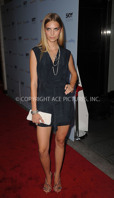WWW.ACEPIXS.COM . . . . . ....August 19 2009, New York City....Model Emily Senko arriving at the premiere of 'My One And Only' at the Paris Theatre on August 18, 2009 in New York City.....Please byline: KRISTIN CALLAHAN - ACEPIXS.COM.. . . . . . ..Ace Pictures, Inc:  ..tel: (212) 243 8787 or (646) 769 0430..e-mail: info@acepixs.com..web: http://www.acepixs.com
