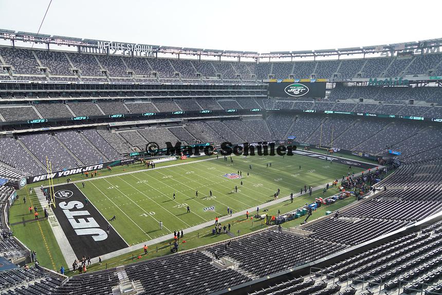 Innenraum des MetLife Stadium - 08.12.2019: New York Jets vs. Miami Dolphins, MetLife Stadium New York