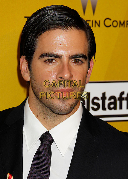 ELI ROTH.Weinstein Company Post Golden Globe Party held at Bar210 & Plush Ultra Lounge at the Beverly Hilton Hotel, Beverly Hills, California, USA..January 17th, 2009.globes headshot portrait black white stubble facial hair .CAP/ADM/MJ.©Michael Jade/Admedia/Capital Pictures