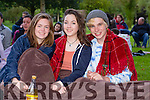 Ciara Drinan, Siún Moriarty and Eoin O'Connell at the Town Park Open Air Cinema on Friday