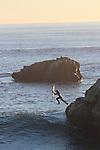 Surfing Santa Cruz Lighthouse Point
