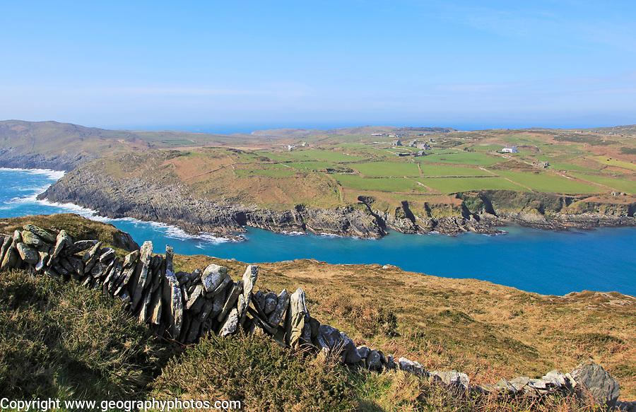 Headland on South Harbour, Cape Clear Island, County Cork, Ireland, Irish Republic