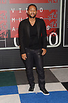 LOS ANGELES, CA - AUGUST 30: Singer John Legend arrive at the 2015 MTV Video Music Awards at Microsoft Theater on August 30, 2015 in Los Angeles, California.
