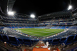 Real Madrid's stadium Santiago Bernabeu after Champions League 2016/2017 Round of 16 1st leg match. February 15,2017. (ALTERPHOTOS/Acero)