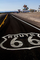 Route 66 in Amboy California.