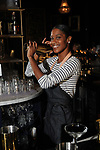Bartender Kendra Gipson working at Victor on Montrose Thursday Aug. 24, 2018.(Dave Rossman photo)