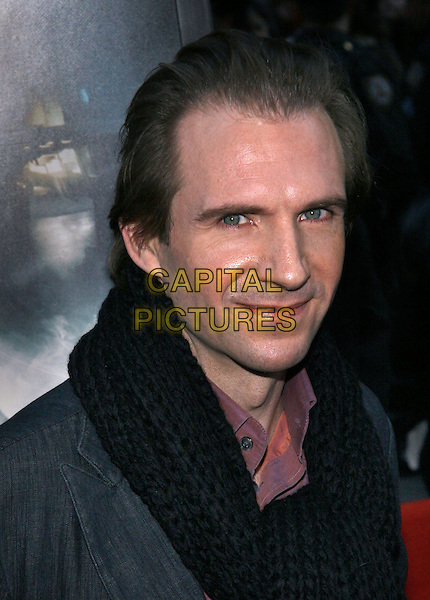"RALPH FIENNES.The NY premiere of ""Harry Potter and the Goblet of Fire"" at Ziegfeld Theatre, New York, NY..November 12th, 2005.Photo: Jackson Lee/Admedia/Capital Pictures.Ref: JL/ADM.headshot portrait.www.capitalpictures.com.sales@capitalpictures.com.© Capital Pictures."