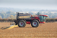 Pre-emergence spraying on Winter Wheat <br /> &copy;Tim Scrivener Photographer 07850 303986<br />      ....Covering Agriculture In The UK....
