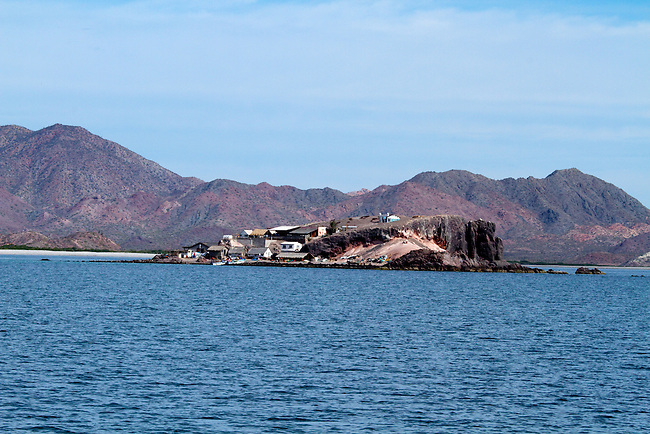 Isla Coyote, An island fishing in Baja, Mexico