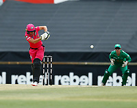 3rd November 2019; Western Australia Cricket Association Ground, Perth, Western Australia, Australia; Womens Big Bash League Cricket, Sydney Sixers verus Melbourne Stars; Alyssa Healy of the Sydney Sixers plays down the leg side during her innings - Editorial Use